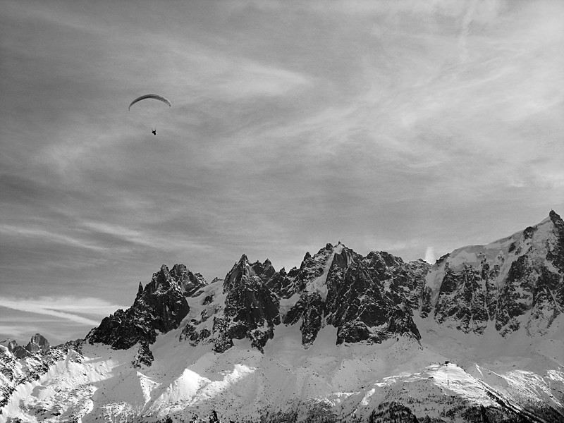 "Photo of ""Chamonix, Looking over towards Aiguille-du Midi"""